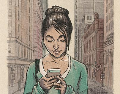 Editorial Illustration - Human Experience