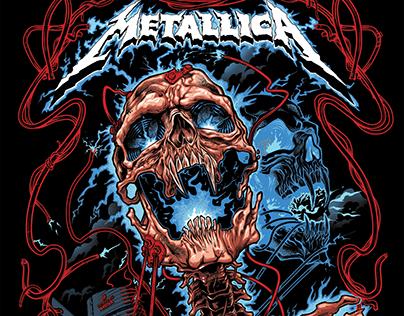 Metallica Gig Poster 2017