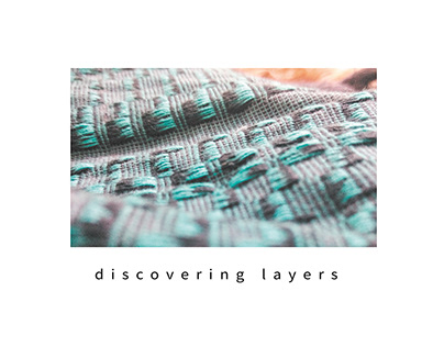 Discovering layers- weaving