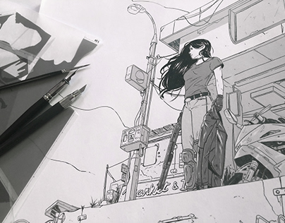 Manga screentones