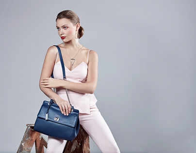 Fashion Leather Bag Campaign