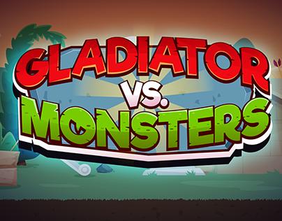 Gladiator Vs Monsters - Mobile Game