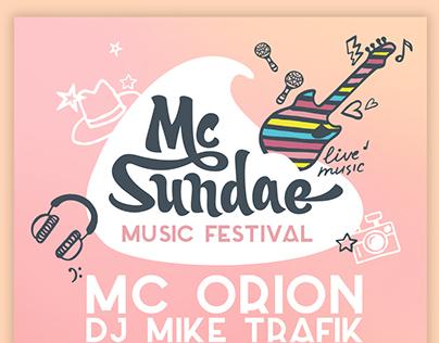 MCD – music festival Mc Sundae