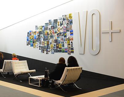 VO+ Magazine Booth