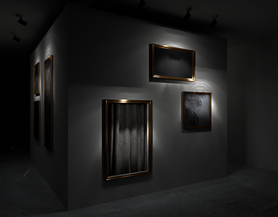 Alexander McQueen inspired art installation