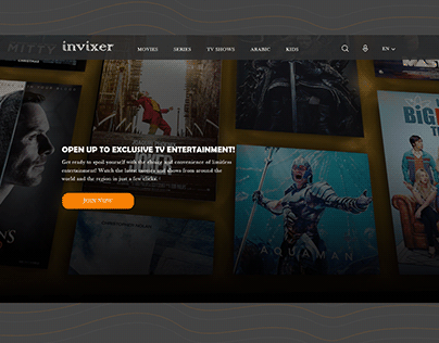 invixer website - entertainment website