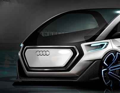 Audi A0 - City car concept 2022