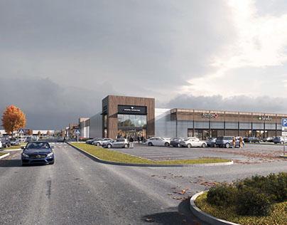 Retail Park project