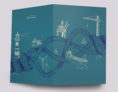 The Danish Maritime Authority post card