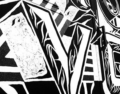 Estudio Novo · Mural Design · 2018