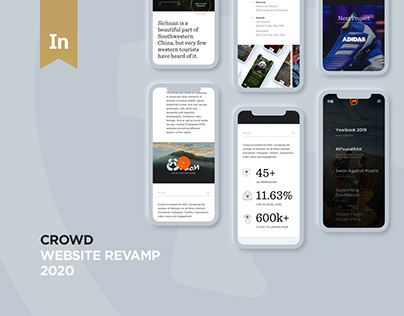 ©CROWD – Website Revamp 2020