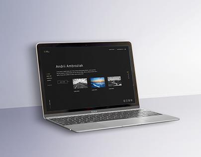 Site Portfolio | UI/UX solution
