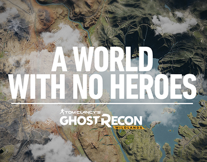 Ubisoft: A WORLD WITH NO HEROES Website