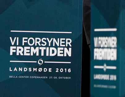 Gennemgående temadesign for Dansk Fjernvarmes landsmøde