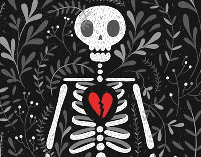 Morir de amor - ilustración para El Gato & La Caja