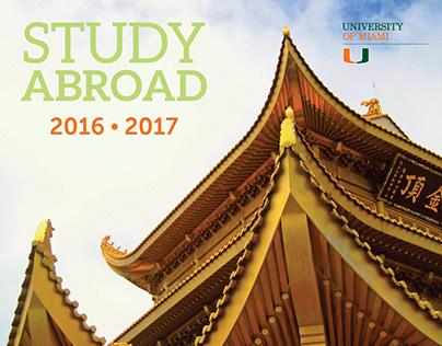 University of Miami - 2016-17 Study Abroad calendar