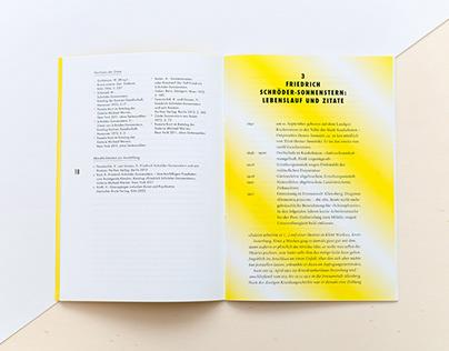 Friedrich Schröder-Sonnenstern | Editorial Design