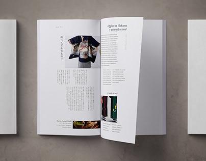 Washi: Quarterly magazine about Japanese traditions.