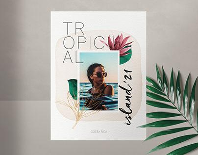Tropical Vibes / Calendar Design 2021