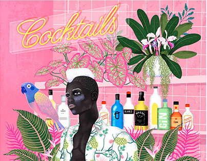 Illustration - Tropical scenes