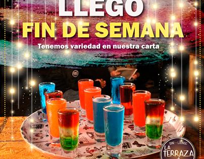 La Terraza Bar Lounge.
