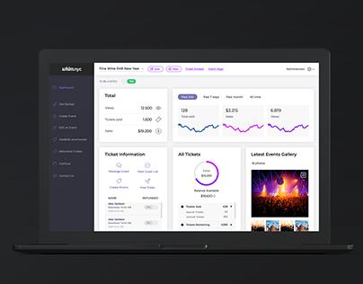 Dashboard design for New York App
