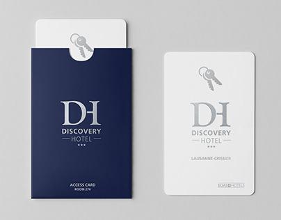 Branding - Discovery Hotel