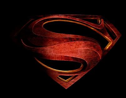 Logotipo superman 3D