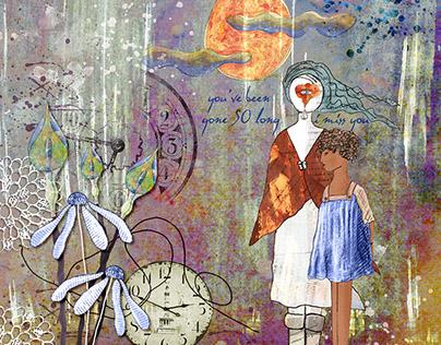 2016 - 'Les Idees de Christine Art Kits' Works