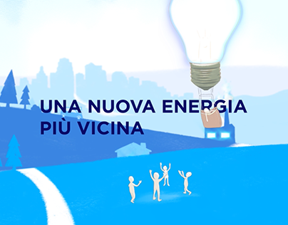 Fiorese Energia Brand Identity Animation