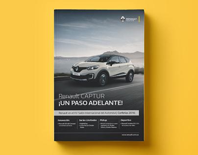 Renault Salón del automóvil, Bogotá/Colombia