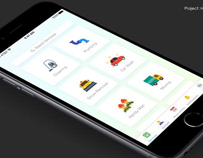HomeDash UI/UX Design