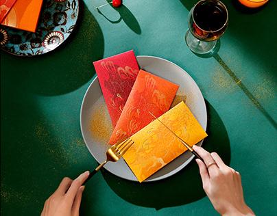 FANTASTIC PIG SHADOW PLAY RED PACKET 兽色可餐 皮影瑞兽猪文创红包