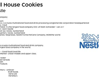 Nestle Cookies Repackaging