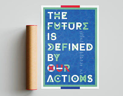 Shaping The Future - Social Poster Design
