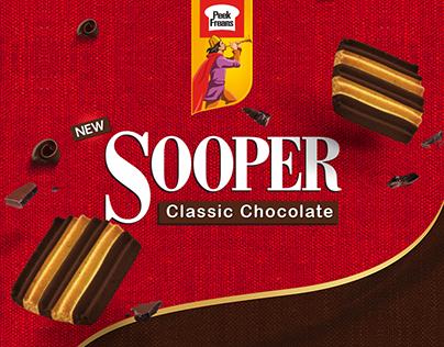 Sooper Classic Chocolate Packaging