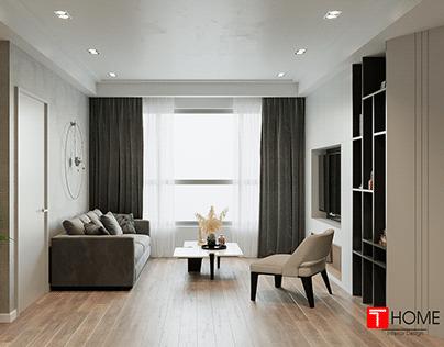Living Room - Modern Style