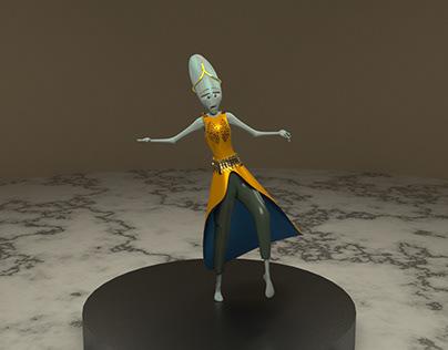 ALEXA 3D Character