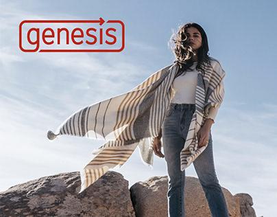 Genesis Logo and Identity Design