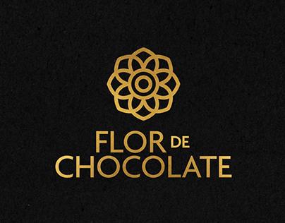 Diseño de marca Flor de Chocolate