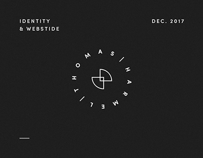Thomas Harmel • Identity & website