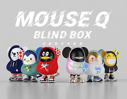 鼠年潮玩MouseQ设定