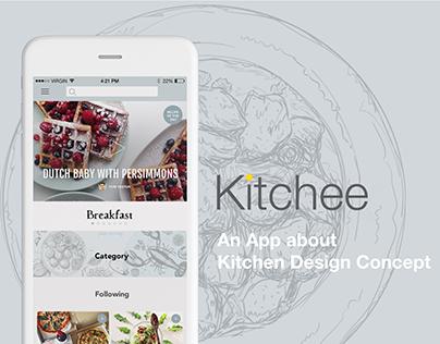 Kitchee - AKitchen App Design Concepts