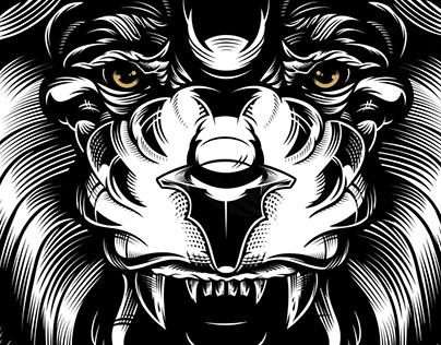 Mountfield HK - Lion Tee design