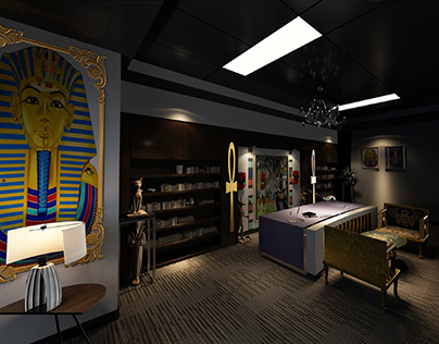 Ancient Egyptian style office (Pharaonic)