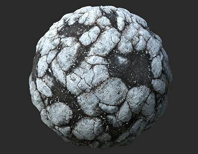 Snowy Rocks - Substance Designer