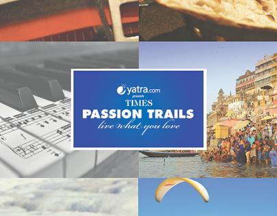 Times Passion Trails - Graduation Project 2015