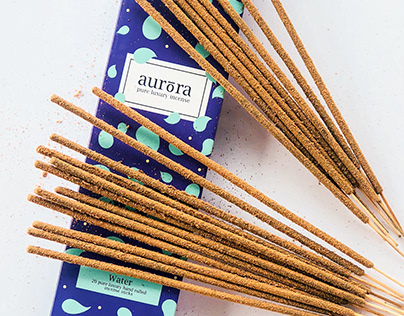 Aurora Incense - Packaging