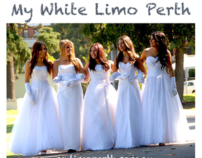 White Chrysler Limousine Hire Perth