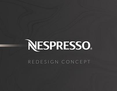 Nespresso Redesign Concept